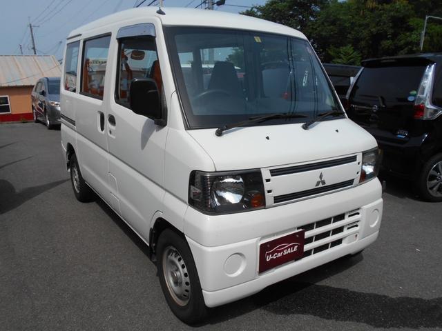 三菱 ミニキャブバン  バイフューエル エアコン/両席エアバック