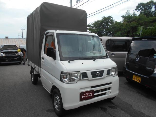 日産 NT100クリッパートラック DX 4WD/エアコン/幌