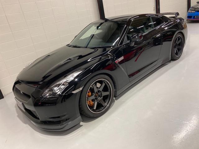 日産 GT-R プレミアムエディション 車高調 TE37 20インチホイール ダッシュ張替え済み