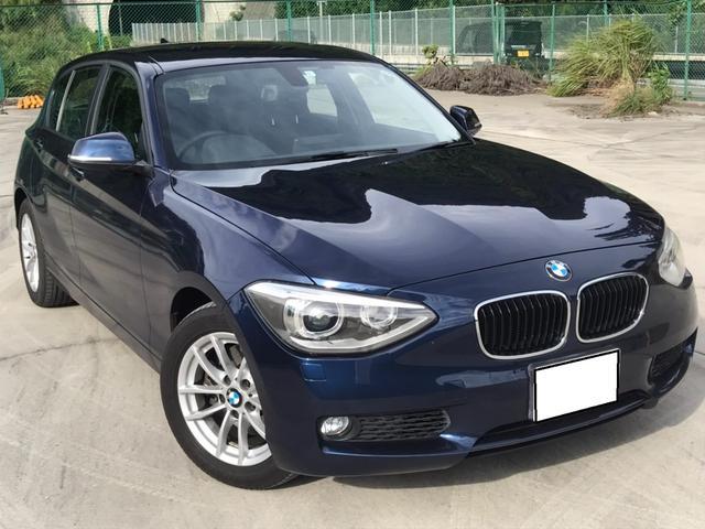 BMW 1シリーズ 120i 純正ナビ/スマートキー/クリアランスソナー/バックカメラ/リミットコントロール/ハンドルリモコン/iDrive/オートエアコン/ブルートゥースオーディオ/オートエアコン/アイドリングストップ