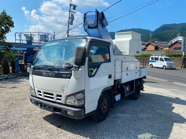 いすゞ エルフトラック  タダノ高所作業車 AT100TE