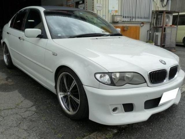 BMW 3シリーズ 320i 右ハンドル レザー アルミ ETC Pシート ブラックルーフ