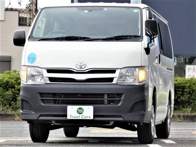 トヨタ ロングDX 6人乗り/最積1000kg/ETC/ナビ/両側スライド/キーレス/パワーウィンドウ/リアアンダーミラー/