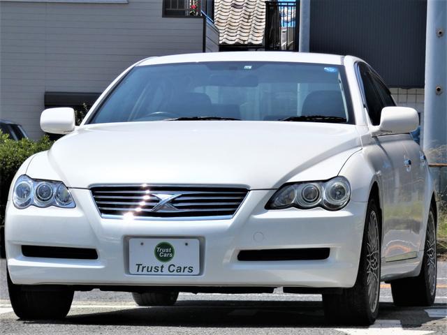 トヨタ マークX 250G Fパッケージリミテッド ナビ/ETC/HID/キーレス/パワーシート/BT機能/DVD再生/オートライト/社外18インチアルミ