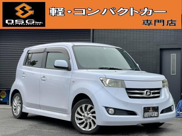 トヨタ bB Z Qバージョン Bluetooth対応SDナビ・スマートキー・ETC・純正ホイール
