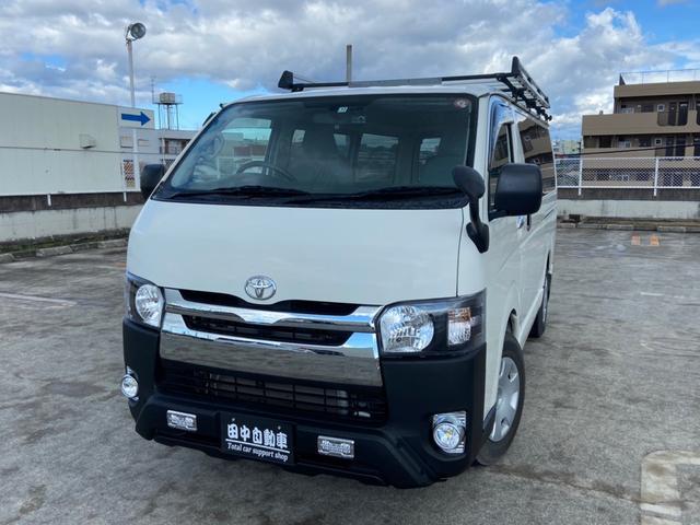 トヨタ ロングDX フルセグナビ バックカメラ Bluetooth接続 ETC DVD ルーフキャリア TRDバンパーガード
