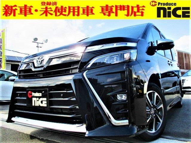 トヨタ  新車未登録車・ナノイー搭載・ハーフレザーシート・両側パワースライドドア・オートクルーズ・トヨタセーフティセンス・クリアランスソナー・レーンキープ・LEDヘッド・オートハイビーム・USBソケット