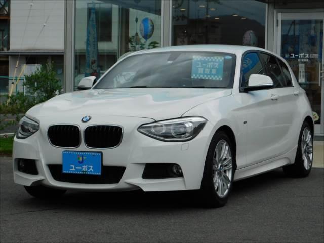 BMW 116i Mスポーツ 禁煙車 ETC ポータブルナビ