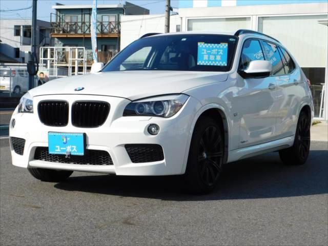 BMW X1 xDrive 20i Mスポーツ 4WD 社外ナビ 地デジ バックカメラ 禁煙車 ユーザー様買取車