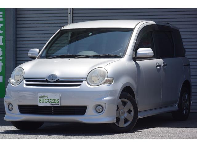 トヨタ X Sエディション 純正エアロ・純正HDDナビ・両側パワスラ