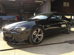 BMW650iカブリオレ レッドレザーパッケージ プッシュスタート
