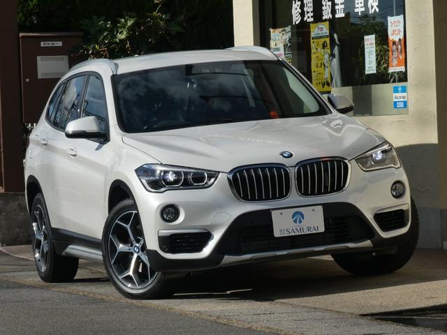 BMW X1 sDrive 18i xライン 1オーナー法人様買取禁煙車 後期型 純正HDDナビ MOP革シート インテリジェントセーフティー ACC パワーバックドア Bカメラ ETC ヘッドアップディスプレイ シートヒーター LEDヘッド