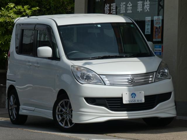 スズキ ソリオ X ユーザー様買取禁煙車 4WD 日本製LEDヘッド ドラレコ カロッツェリアナビフルセグTV Bカメラ ETC 外アルミホイール プッシュスタートシステム パワースライド MSV DVD シートヒーター