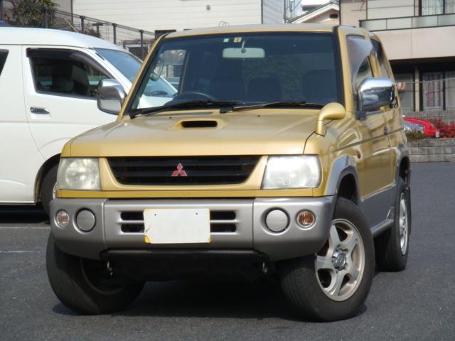 三菱 パジェロミニ V ターボ 4WD (検32.6)