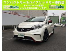 ノートニスモ S 5MT メーカーオプションレカロシート 純正ナビ