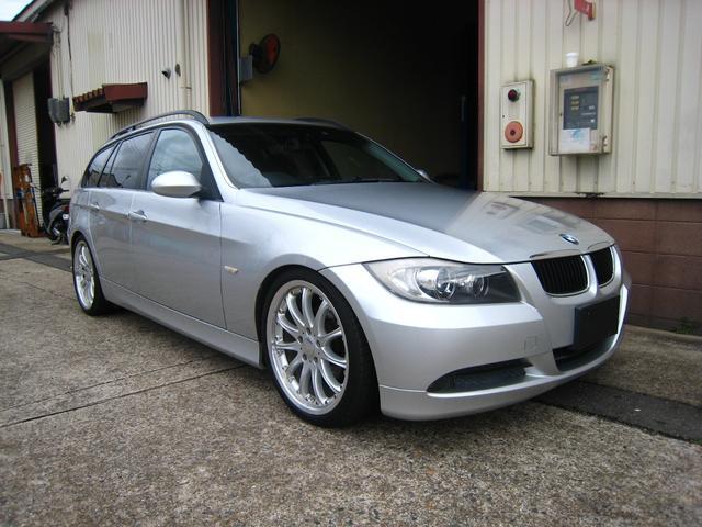 BMW 320iツーリング 19インチアルミ HID ナビ CD