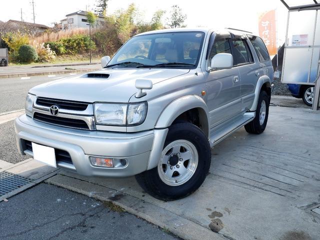 「トヨタ」「ハイラックスサーフ」「SUV・クロカン」「京都府」の中古車