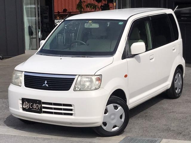 三菱 eKワゴン M 純正CD ETC車載器 電格ドアミラー ベンチシート