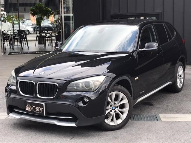 BMW X1 sDrive 18i スマートキー&プッシュスタート 運転席&助手席シートリフター オートエアコン 純正CDコンポ ミラーinETC AUXin 純正17インチアルミ イカリング カーテンエアバック