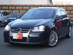 VW ゴルフR32 4WD RECARO黒革シート ナビ/フルセグ