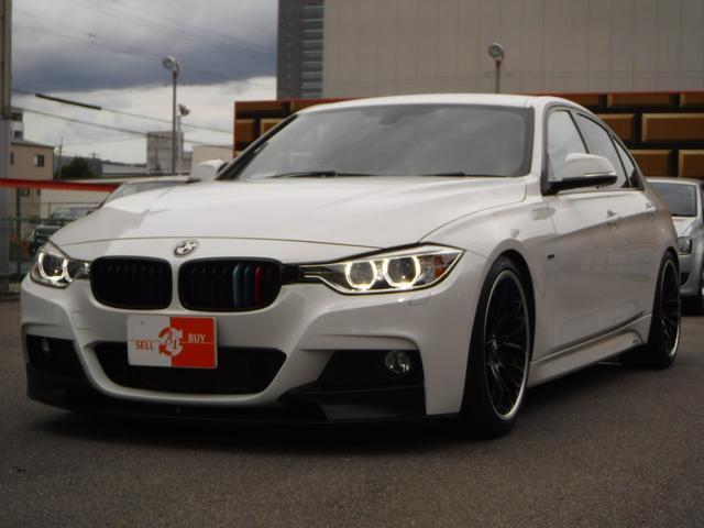 BMW 320i Mスポーツ 赤革 ビルシュタインサス 19AW