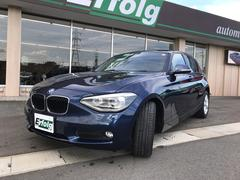 BMW 116i 純正HDDナビ DVD再生 スマートキー HID