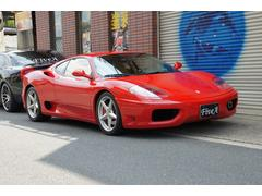 フェラーリ 360モデナF1HDDナビフルセグTVバックカメラETC記録簿あり