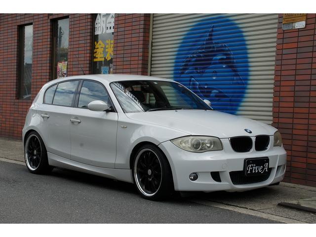 BMW 116iMスポーツパッケージ HDDナビ ローダウン
