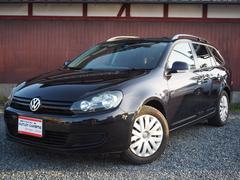 VW ゴルフヴァリアントTSI トレンドライン 黒革シート フルセグTV ナビ