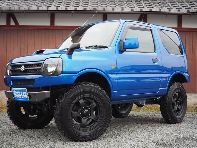 スズキ XG 3インチアップ 新品タイヤ ノーマルから制作 5MT