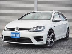 VW ゴルフRヴァリアントベースグレード   ワンオーナー禁煙車 衝突軽減ブレーキ