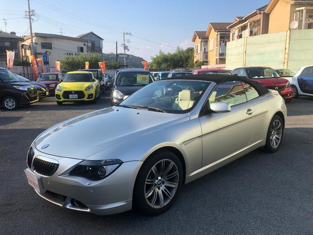 BMW 650iカブリオレ 買取車 禁煙車 電動オープン