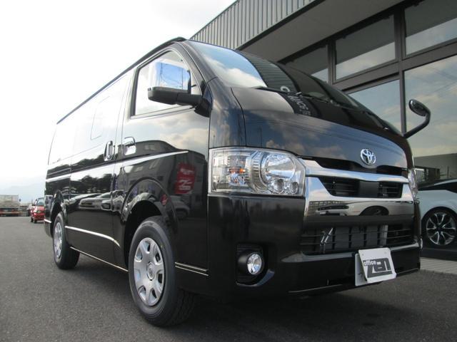 トヨタ ハイエースバン ロングスーパーGL 新車!