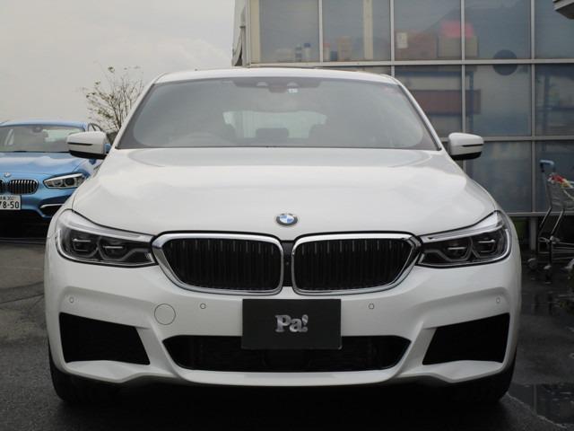 BMW 6シリーズ 630i グランツーリスモ Mスポーツ ディーラー使用車 純正ナビ 全周囲カメラ ETC フルセグ 電動パノラマガラスサンルーフ ハーマンカードンサラウンドサウンドシステム 本革シート アダプティブクルーズコントロール 電動テールゲート