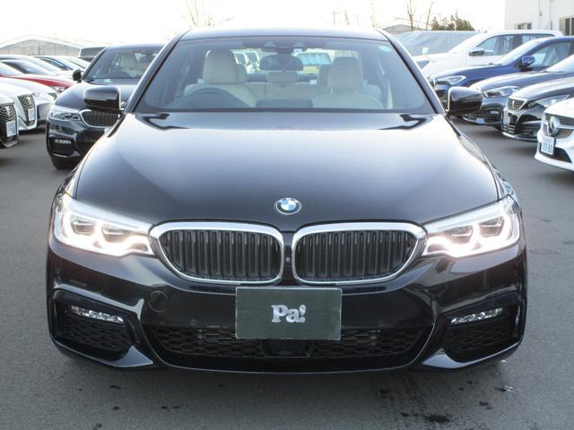 BMW 5シリーズ 530e Mスポーツアイパフォーマンス ディーラー使用車 ナビ 全周囲カメラ ETC アダプティブクルーズコントロール 白革シート メモリー機能付きパワーシート 電動テールゲート コーナーセンサー