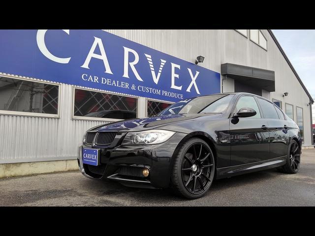 BMW 320i Mスポーツパッケージ SSR19AWチタンマフラー