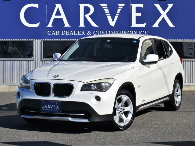 BMW X1 sDrive 18i 希少色ミネラルホワイト/社外ナビ/後席用モニター