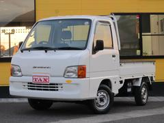サンバートラックTB・4WD・エアコン・三方開・5MT・スペアキー