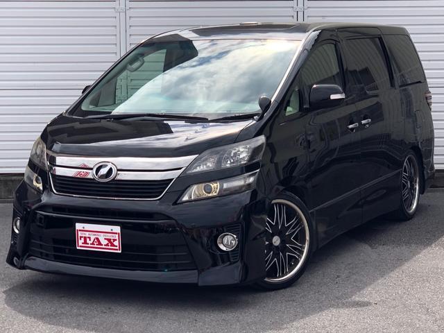 トヨタ 2.4Z ゴールデンアイズ・8型ナビ・サンルーフ