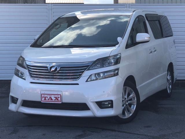 トヨタ ヴェルファイア 3.5Z プラチナムセレクション・純正HDDナビ・フルセグ