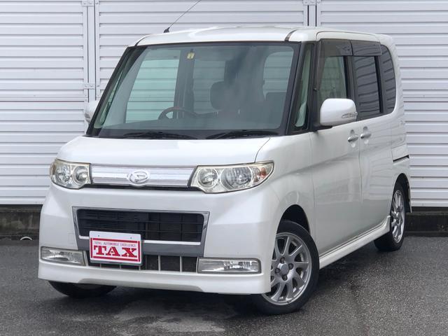 ダイハツ カスタムRS・4WD・純正HDDナビ・フルセグ・Bモニター