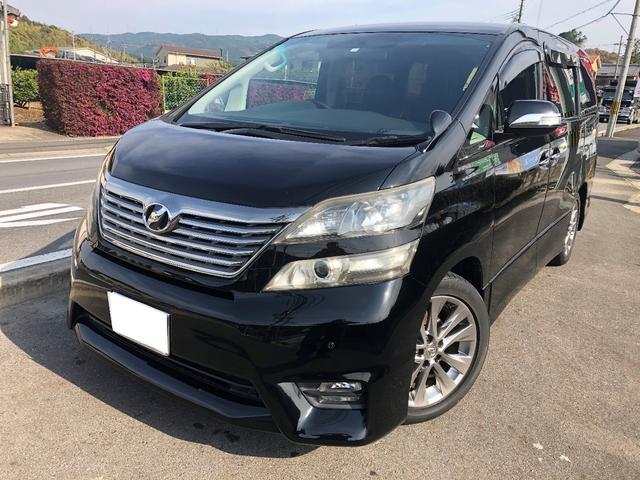 トヨタ 2.4Z プラチナセレクションII 8インチナビ フリップダウンモニター シートカバー ETC
