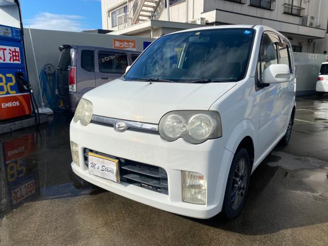 ダイハツ カスタム VS 4WD/車検令和4年11月/ナビ/AW/Tベル交換済み/キーレス