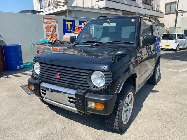 三菱 パジェロミニ  車検5年6月 CD AW MT 4WD