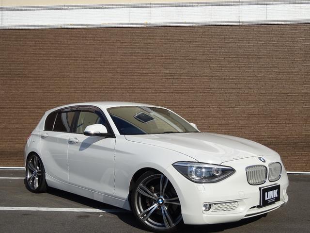 BMW 116i スタイル ナビ 規格外19インチアルミ ローダウン