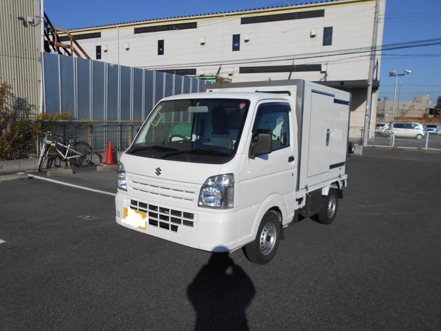 スズキ 冷蔵冷凍車 マイナス5℃設定