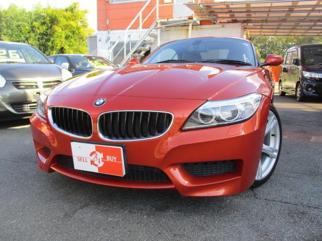 BMW sDrive20i Mスポーツ デザインピュアトラクションパッケージ 専用18アルミホイール 黒レザーコンビシート オレンジライン入りシート 純正ナビ キーレス ETC