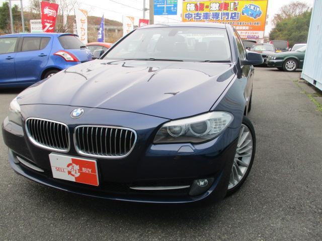 BMW 5シリーズ 523i ハイラインパッケージ 黒革シート 純正ナビTV ETC バックカメラ コンフォートアクセス オプション19インチアルミホイール シートヒーター HIDライト スマートキー オートライト クルーズコントロール