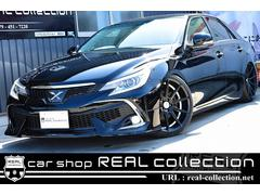 マークX250G 黒革シート 新品車高調 新品20AW HDDナビ