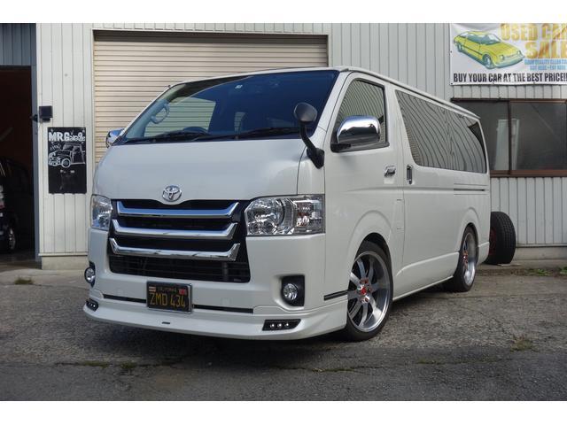 トヨタ サンルーフ装着/ロングスーパーGL/モデリスタエアロ&グリル